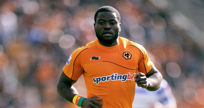George Elokobi: Scored to help Wolves on to victory