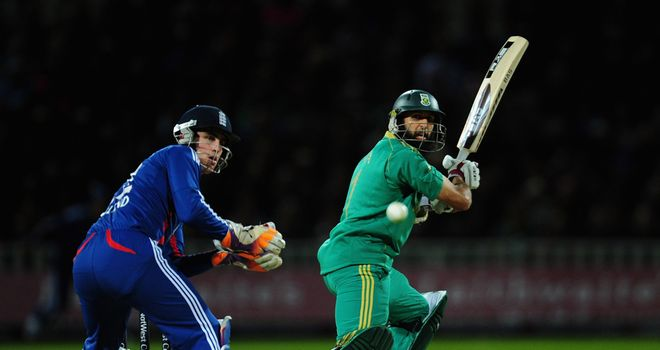 Hashim Amla: South Africa face Zimbabwe in a Group D match