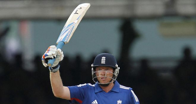 Ian Bell: made 91 in a losing cause for England