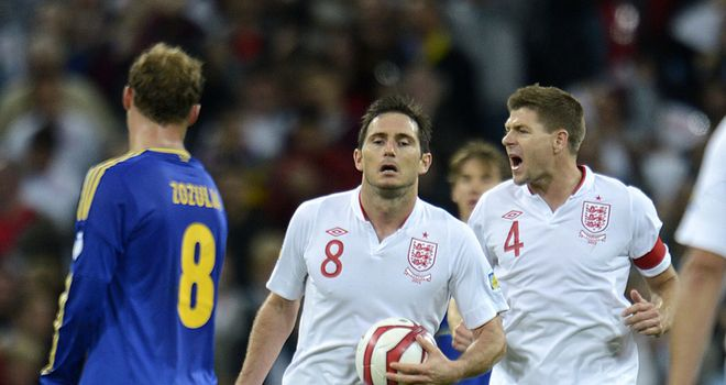 Frank Lampard: Relieved to earn a late 1-1 draw with Ukraine