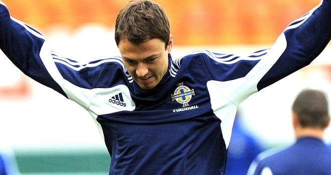 Jonny Evans: Northern Ireland defender played through the pain in the World Cup qualifier against Russia