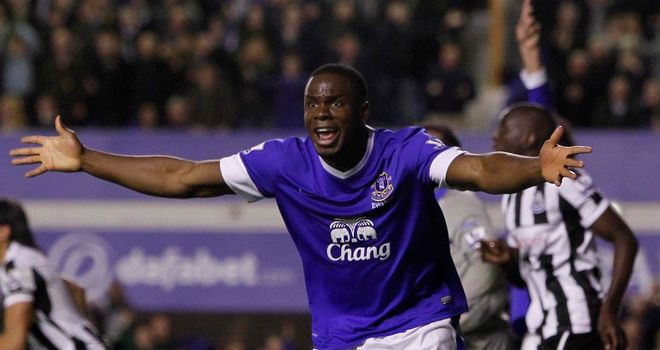 Victor Anichebe: Nigerian striker has been impressive for Everton so far this season