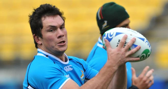 Francois Louw: The Bath flanker is preferred to the benched Marcell Coetzee