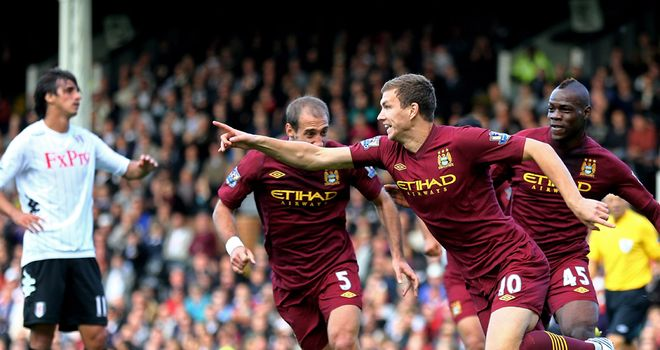 Dzeko: Happy at City