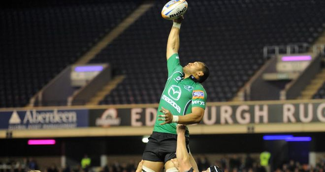 George Naoupu: On target for Connacht against Dragons