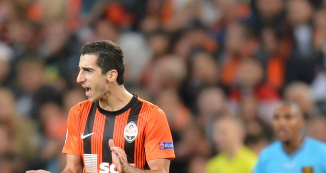 Henrikh Mkhitaryan: Being linked with some of Europe's top clubs