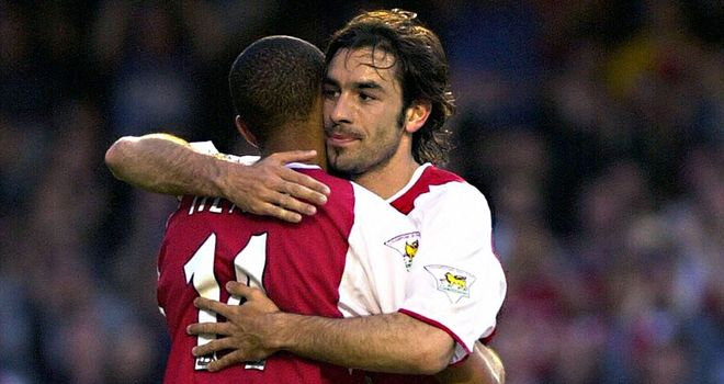 Robert Pires: Stand by Wenger