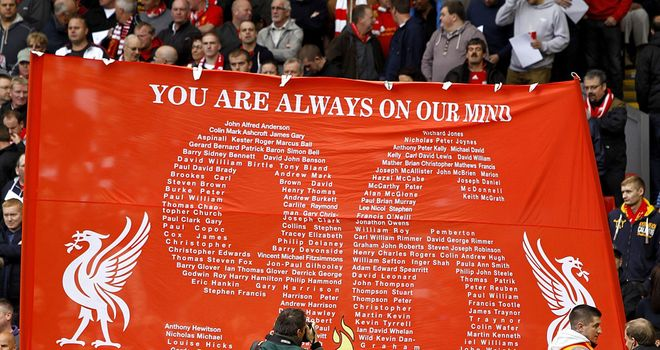 Ninety-six Liverpool supporters died in the Hillsborough disaster
