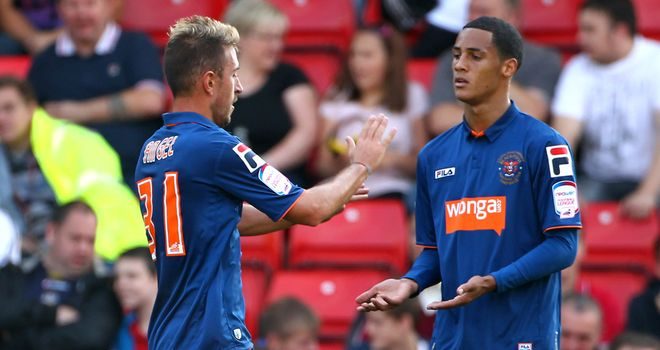 Ince: Celebrates with Angel Martinez