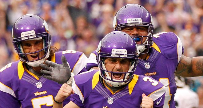 Minnesota Vikings: Heading to Wembley in 2013
