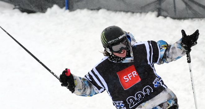 James Woods: Claimed Great Britain's first snowsport World Cup win in eight years in Argentina