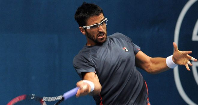 Janko Tipsarevic: second seed behind Tomas Berdych in Chennai