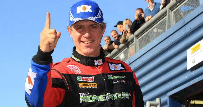 Jason Plato: On pole at Rockingham