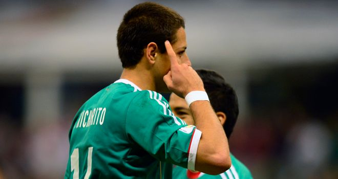 Javier Hernandez: Scored winner for Mexico