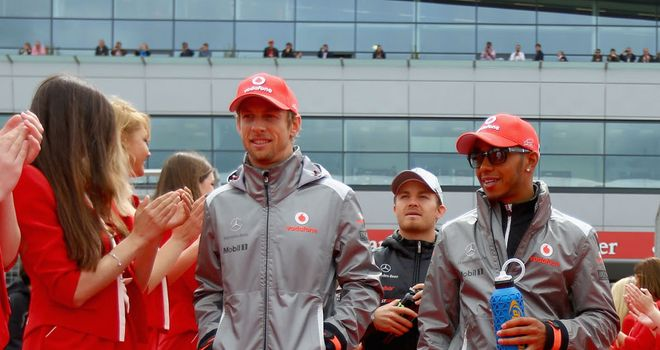 "Jenson Button: Admits he and Hamilton are ""not close friends"" but that nothing has changed inside McLaren"