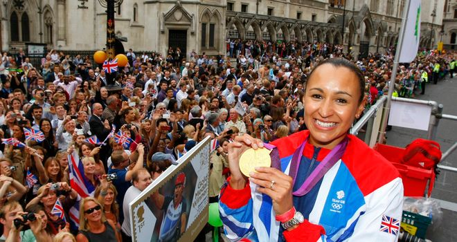 Jessica Ennis: The athlete has urged more attention to be paid to women's sport