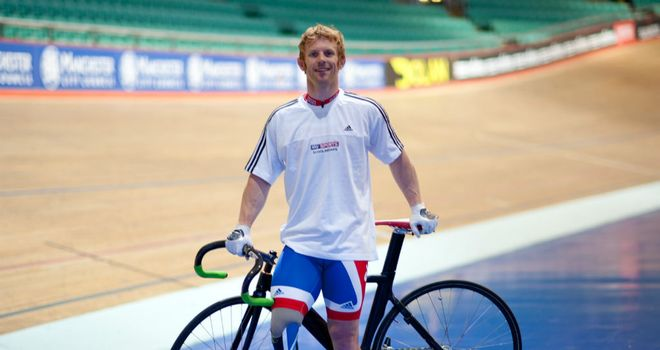 Jody Cundy: Took the bronze in the men's team sprint