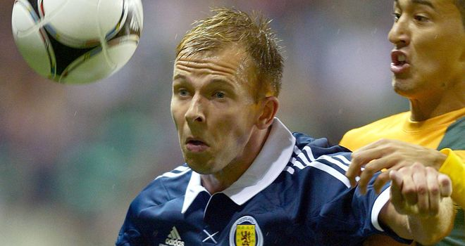 Jordan Rhodes: Pushing for his first Scotland start against Serbia