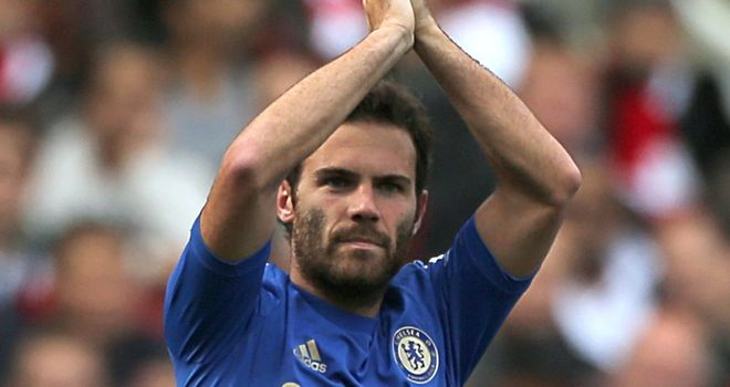 Juan Mata: Chelsea star not included in Spain squad to reduce his workload