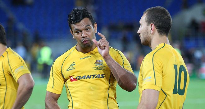 Kurtley Beale: The No 10 shirt is his for Pretoria clash