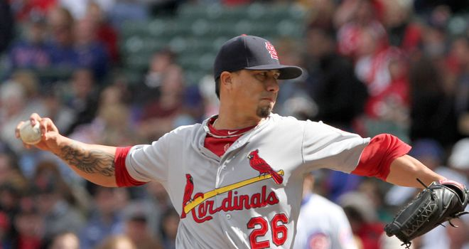 Kyle Lohse: Helped St Louis to another win