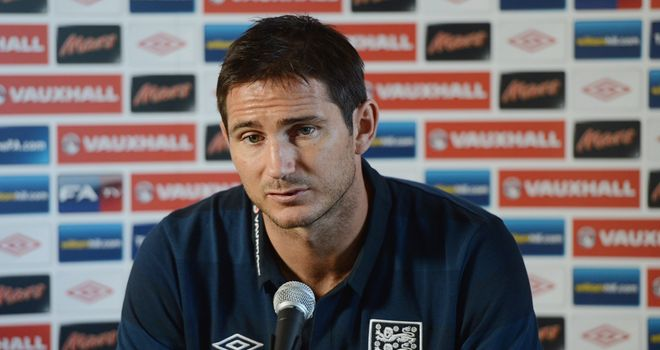 Frank Lampard: Has now made 92 appearances for England