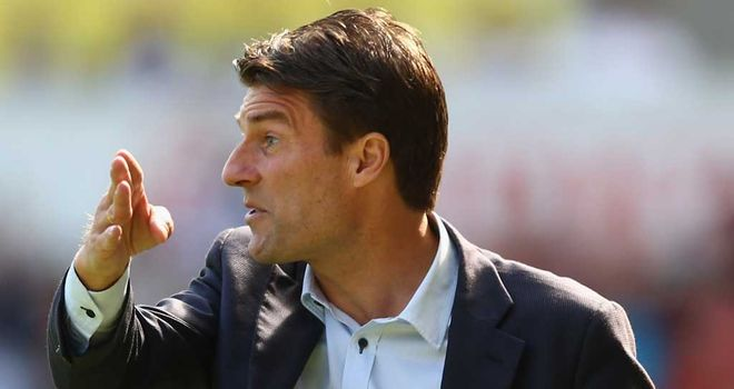 Michael Laudrup: Swansea boss has emphasised the importance of the next game against Reading