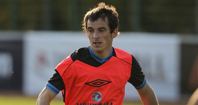 Leighton Baines: Says it is 'no small task' trying to get in the England team