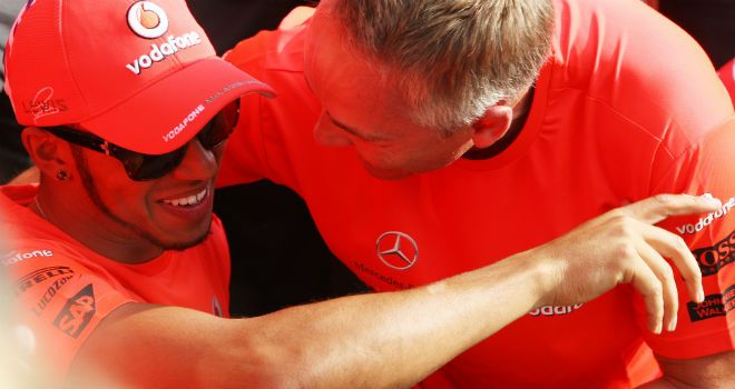 Lewis Hamilton: Ultimately decided to go with Mercedes' offer