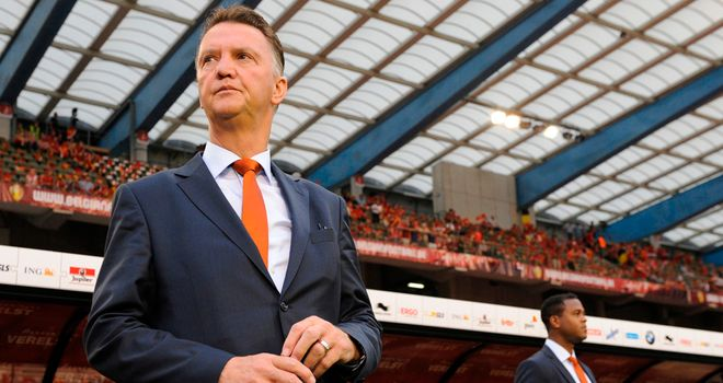 Louis van Gaal: His side are three points clear in Group D