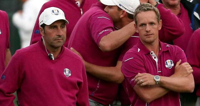 Olazabal has put Luke Donald in the first match