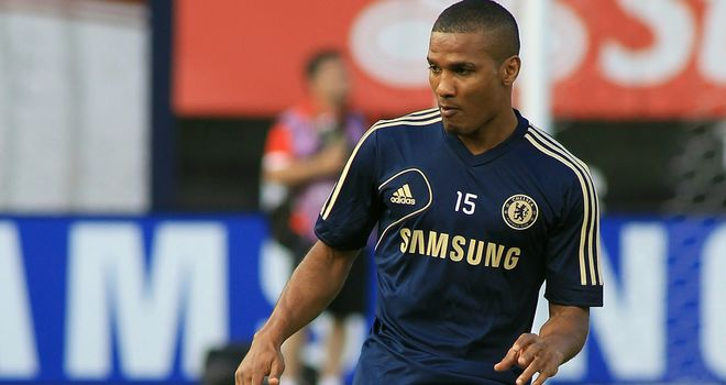 Florent Malouda: Chelsea midfielder is training with the Under 21s after being left out of the Champions League squad
