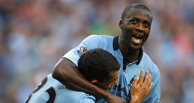 Yaya Toure: The midfielder thinks his battles with Xabi Alonso, Mesut Ozil and Sami Khedira will be key