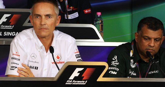 Martin Whitmarsh: Remains tight-lipped about Hamilton's McLaren future
