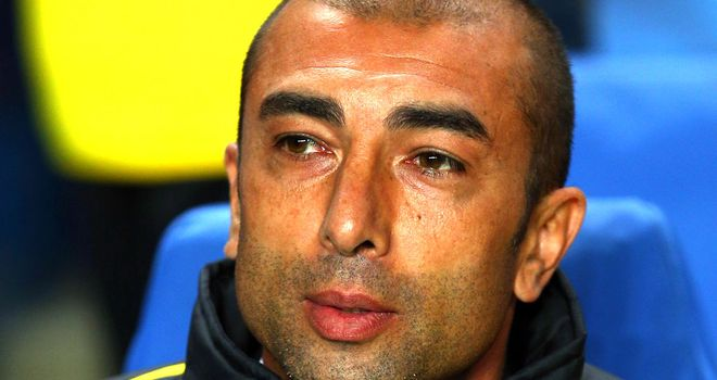 Roberto Di Matteo: The Chelsea boss has not won in three successive matches