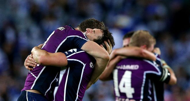 Melbourne Storm: First premiership win in 13 years