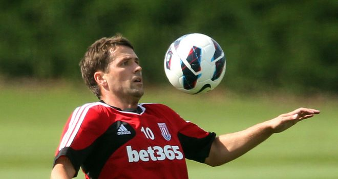 Michael Owen: Stoke City striker believes he is ready to make his bow against Manchester City on Saturday