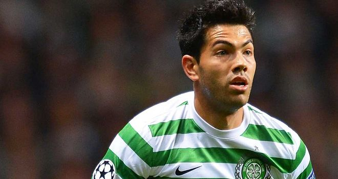 Miku: Celtic striker is hoping to pull off a shock against Barcelona in the Champions League