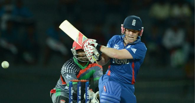 Morgan: struggled with spinners in Colombo