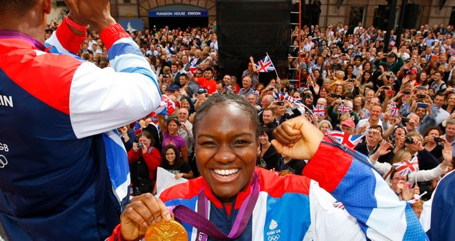Nicola Adams: Send rivals warning ahead of European Championships next month