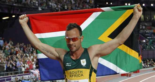 Oscar Pistorius: more than three seconds ahead of the field