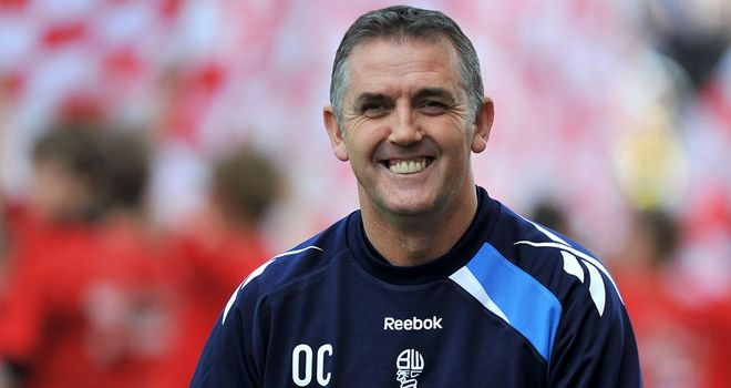 Owen Coyle: Set to sign a one-year rolling contract at Wigan