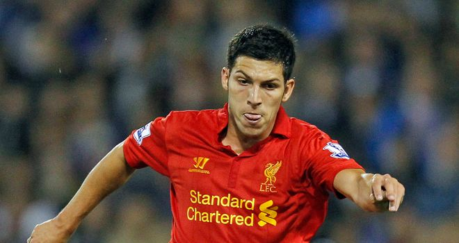 Dani Pacheco: Third loan spell agreed for Liverpool youngster