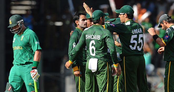 Pakistan triumphed over South Africa