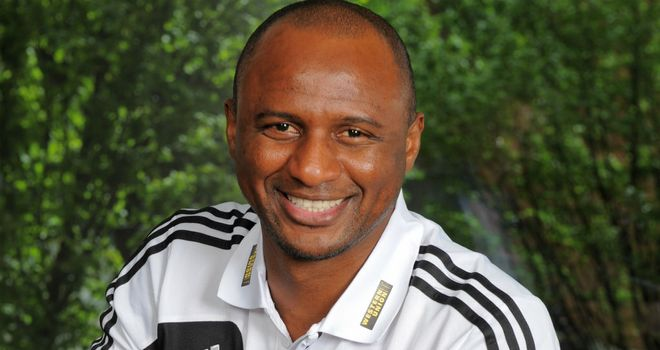Patrick Vieira: Manchester City's football development executive is planning for the future
