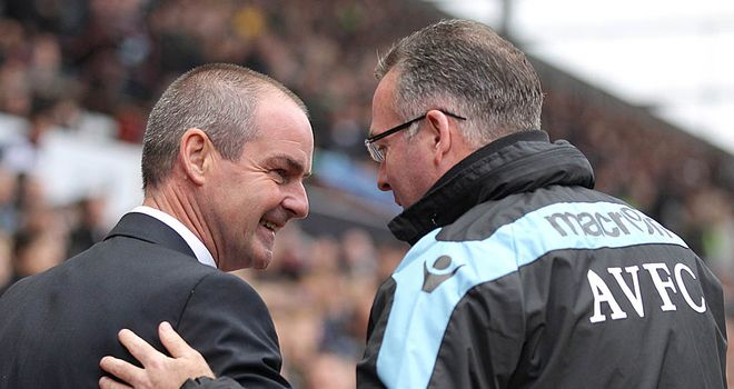 Steve Clarke: Happy with a derby point