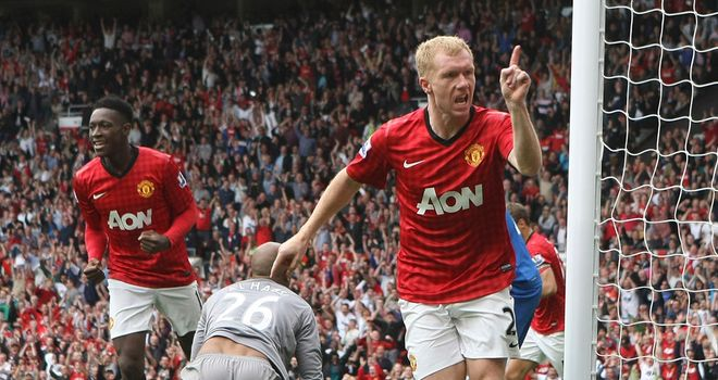 Scholes: has scored against 34 Premier League teams