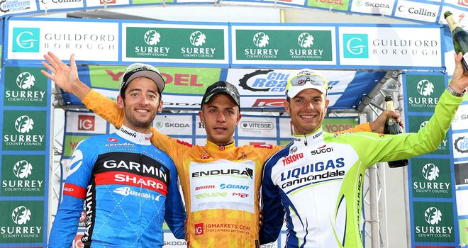 Tiernan-Locke: Top step of the podium