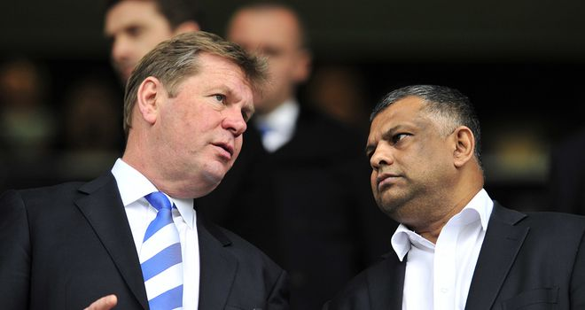 Philip Beard insists Tony Fernandes remains committed to QPR