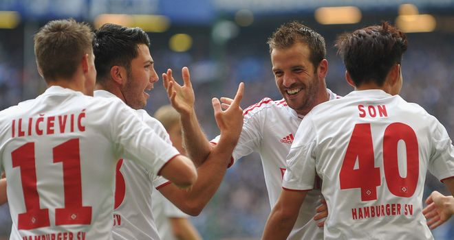 Van der Vaart: Hamburg in hunt